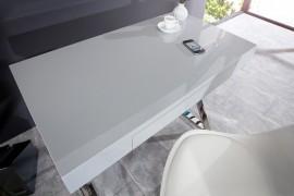 Elegante grijze bureau 100cm afbeeldingen