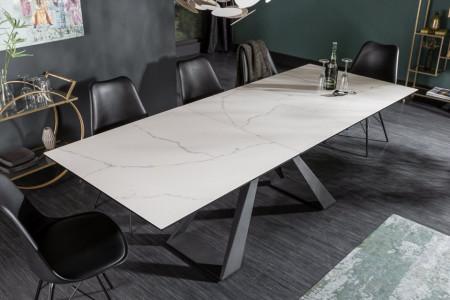 Uitschuifbare eettafel CONCORD 180-230 cm marmerlook gemaakt van keramiek