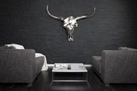 Wandschedel Model: Matador - Zilver afbeeldingen
