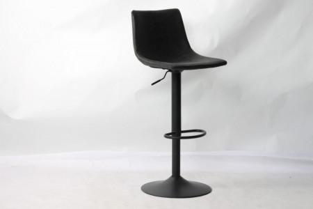 Barstoel Tref Set van 2 verstelbaar Vintage Zwart