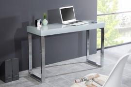 Design laptop DESK 120cm Hoogglans grijs afbeeldingen