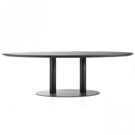 Eettafel ovaal - 240x110 zwart