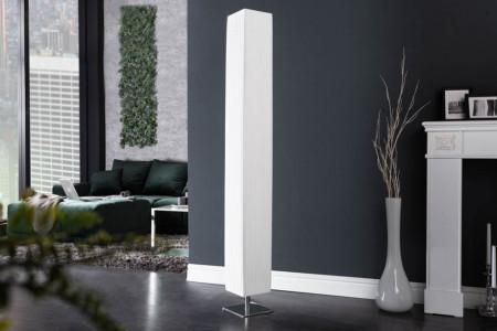 Moderne design vloerlamp PARIS XXL 160cm witte vloerlamp met plissé kap