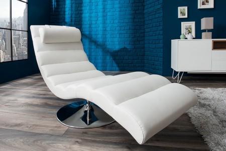 Relaxstoel Model: Relaxo - Wit - 19990 afbeeldingen