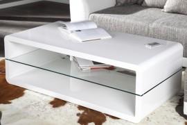 Salontafel Model: Formula - hoogglans wit afbeeldingen