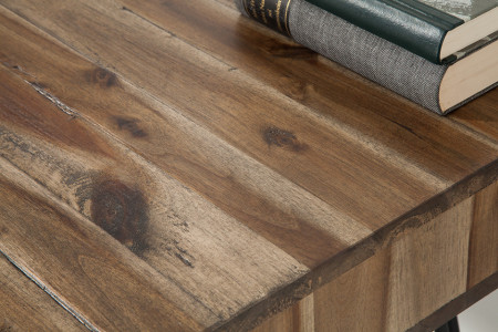 bureau accacia hout SCORPION 110 cm