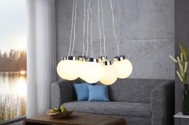 Hanglamp Model: Pearls - L 8 Wit afbeeldingen