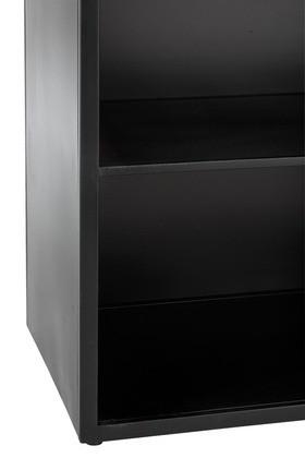 Industrieel metaal zwart Kast 5 Schap en 4 laden 180cm