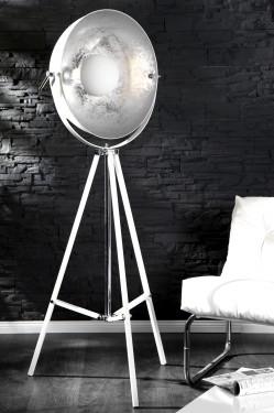 Vloerlamp Model: Studio - Wit / Zilver - 18693 afbeeldingen