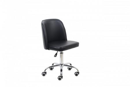 Bureaustoel Pu zwart