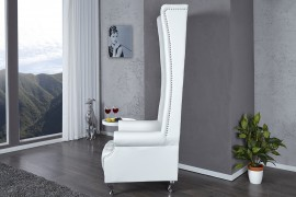 Fauteuil Model: Royal Chair - Wit