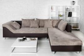 Loungebank Model: Trendy - Bruin / Cappuccino afbeeldingen