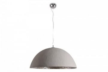 Stijlvol hanglamp GLOW 70cm beton zilver afbeeldingen
