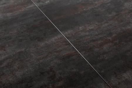Uitschuifbare eettafel EUPHORIA 180-220-260 cm keramiek in lava-look