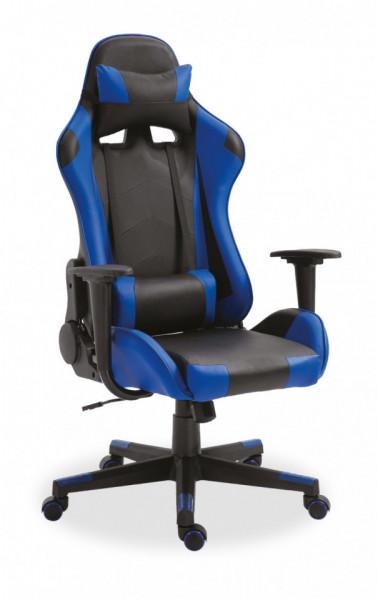 Bureaustoel Gaming Donkerblauw/zwart