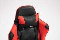 Bureaustoel Gamingstoel Formula Rood Zwart