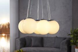 Hanglamp Model: Pearl - XL 8  Wit afbeeldingen
