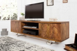 TV-Board 160cm Sheesham afbeeldingen