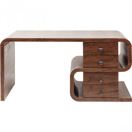 Bureau walnoothout 150x70cm van meubelontwerper Andreas Weber
