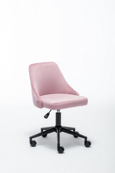 Bureaustoel Irmi Roze Fluweelstof