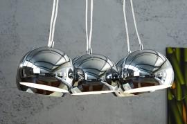 Hanglamp Model: PERLOTA =  Chroom Medium afbeeldingen
