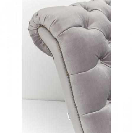 Relaxstoel Desire Velvet Zilver