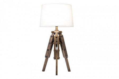 Tafellamp Grenen Hout Industriële Retro 59 cm