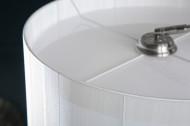 Exclusief design booglamp EXTENSO 230 cm wit met wit marmeren voet