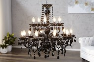 Hanglamp Model: Konings  - 15 armen Zwart