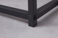 Industriële bijzettafels set van 2 DURA STEEL 40cm zwart metaal