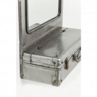 Industriële stijl: de Suitcase wandspiegel