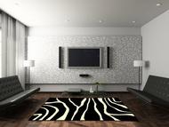 Vloerkleed Model: Zebra