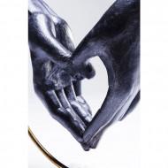Deco Object Elementen Hart Hand 34cm