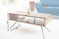 Design salontafel sheeshamhout ALPHA 100cm