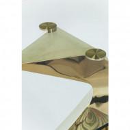 Eettafel Gloria Goud 200x100cm