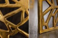 Handgemaakte salontafel Gold 60cm aluminium goud in gap design