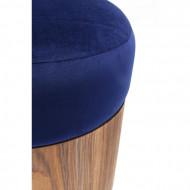 Hocker Lilly blauw Ø39cm