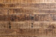 Industrieel Eettafel Massief mangohout industrieel design eettafel 160 cm