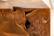 Salontafel Kubus Model Massiev teakhout kubus 90cm