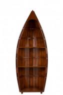 Boekenkast Boot Hout Bruin 123cm