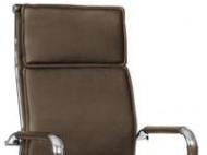 Bureaustoel Cognac Comfortabel