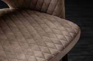 Comfortabele design stoel in een elegant Retro stijl