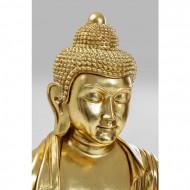 Deco Object Boeddha Gold 120cm