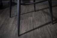 Edele barkruk TURIN mosterdgeel fluweel met decoratieve quilting Barstoel met armleuningen