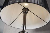 Edele design vloerlamp LUCIE 160 cm zwarte barokstijl vloerlamp
