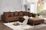 Loungebank Model: Sonja + Hocker - Napalon Bruin