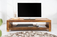 Massief design tv-bord MADEIRA 110 cm sheesham salontafel