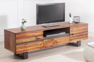 Massief houten boomstam TV Board 160cm Acacia