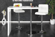 Design bartafel MAGNUS 120cm hoogglans wit