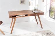 Design Bureau RETRO 117 cm Sheesham  Leverbaar in Augustus 2020